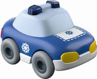 Haba Kullerbü Police Car -  * This cute little police car will bring ultimate driving fun into your little one's nursery by running down any Haba Kullerbü ball track with high speed.