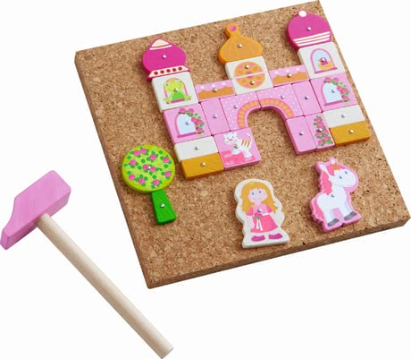 Haba Tack Zap Game -  * The cheerful tack zap games by Haba bring a lot of creative and fanciful playing fun into your little boy's or girl's nursery.