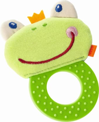 Haba Chomp Champ -  * Haba's beautifully designed chomp champ is going to be your little one's first best friend. The flat ring as well as the soft animal face are super easy to be grasped and held by small hands.