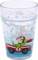 Haba Zippy Cars Glitter Cup -  * This extraordinary glitter kids cup will make your little racer's heart melt instantly. The cup features two race drivers that wave cheerfully.