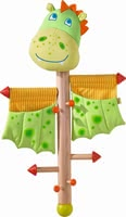Haba Coat Rack Dragon -  * Haba's coat rack comes in a great dragon design and will be the ultimate highlight in your child's nursery or in your hall.