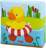 Haba Bath Book - Haba's colourful bath books add some diversion to your little one's bathing fun in the bath tub or swimming pool.