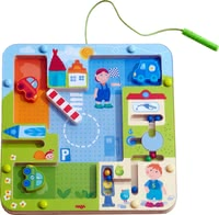 Haba Magnetic Game Street Sense - Haba's amazing magnetic game Street Sense teaches your child the first rules of road traffic in a playful way. /ul>
