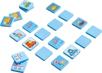 "Haba Matching Game World on Wheels -  * Not only little boys will fall in love with Haba's sturdy matching game ""World on Wheels"". Exciting vehicle-related motifs come in a lovely design and decorate 20 resilient matching blocks."
