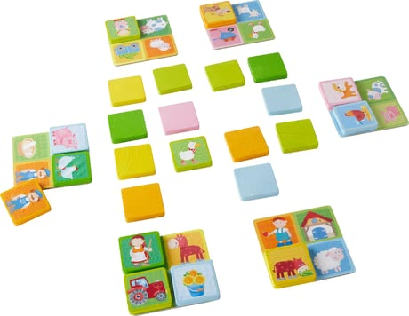 Haba Bingo Farm Friends -  * Haba's sturdy bingo game features child-appropriate and farm-related motifs that will melt every child's heart immediately.