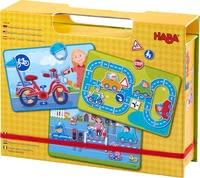 Haba Magnetic Game Box -  * Haba's amazing magnetic game boxes bring ultimate fun while playing and putting together exciting new worlds.