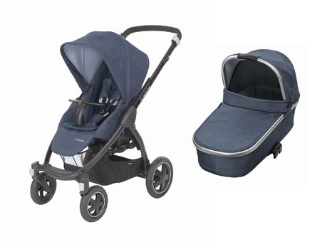 Maxi-Cosi Stroller Stella including Carrycot Oria Nomad Blue 2018 - large image