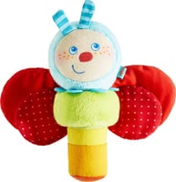 Haba Caterpillar Mina Clutching Toy -  * Listen! Do you hear it jingling and crackling, too? Especially the smallest among us are fascinated and delighted by sounds.