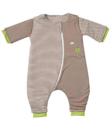 Bubou Sleepsuit Walker, Apple – Beige -  * Bubou's sleepsuit Walker is perfect for little active children. Its tried and tested Bubou material accompanies them safely through the night.
