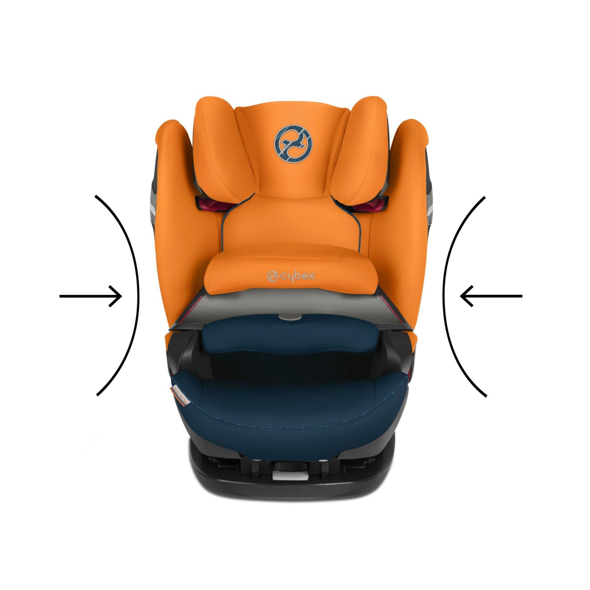 cybex child car seat pallas s fix 2019 indigo blue navy. Black Bedroom Furniture Sets. Home Design Ideas