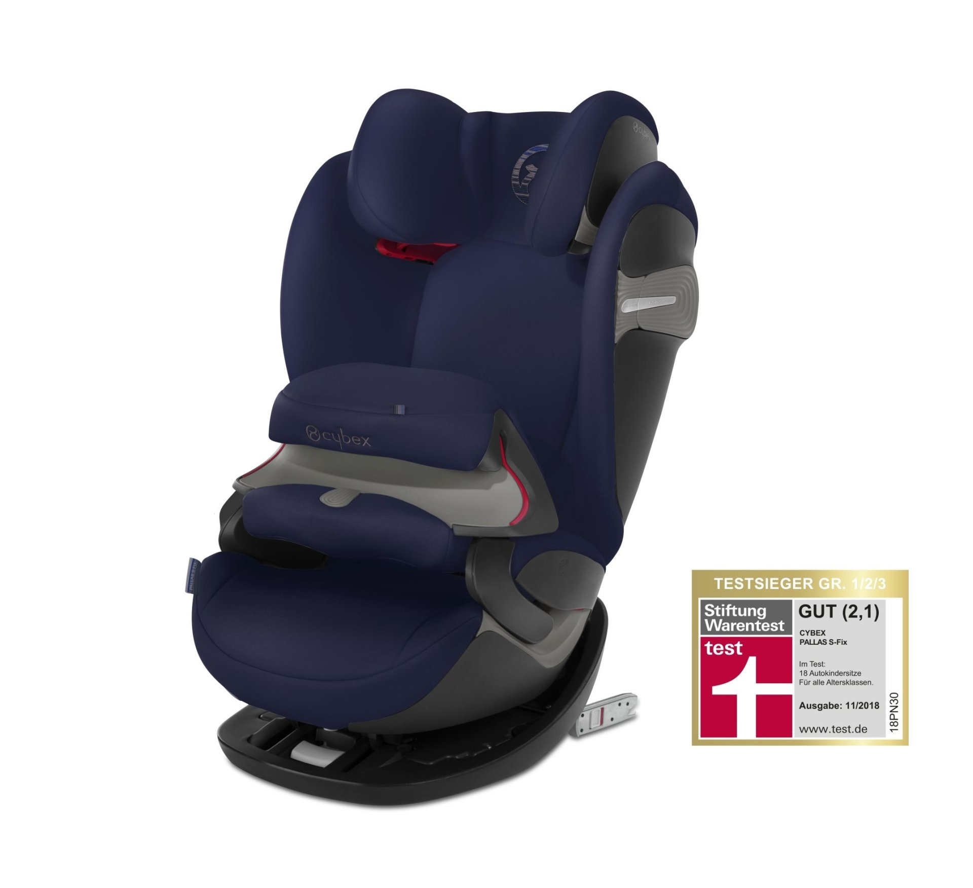 cybex child car seat pallas s fix 2018 denim blue blue. Black Bedroom Furniture Sets. Home Design Ideas