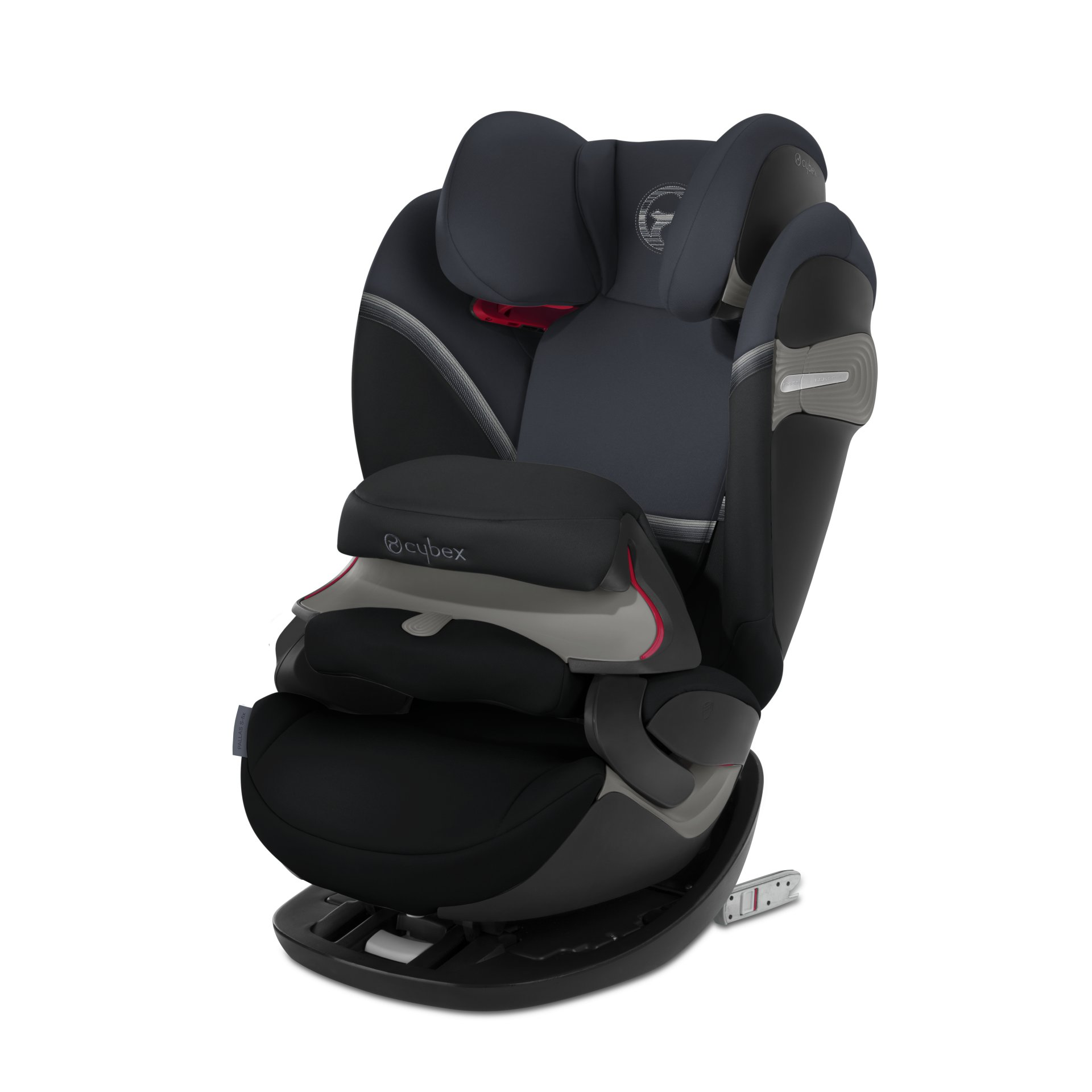Kids Group 1-2-3 Car Seat ISOFIX Baby Child Booster Chair Travel Protector Black