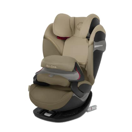 Cybex Child Car Seat Pallas S-Fix Classic Beige - mid beige 2020 - large image