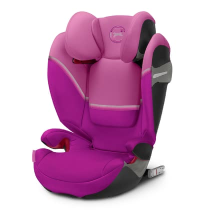 Cybex Child Car Seat Solution S-Fix -  * The Cybex child safety seat Solution S-Fix has been equipped with a larger seat surface so that it supplies your child with even more comfort. Its slimmer outline makes it fit perfectly in smaller cars or else ideal for being used as a third child safety seat on the back seat of your car.