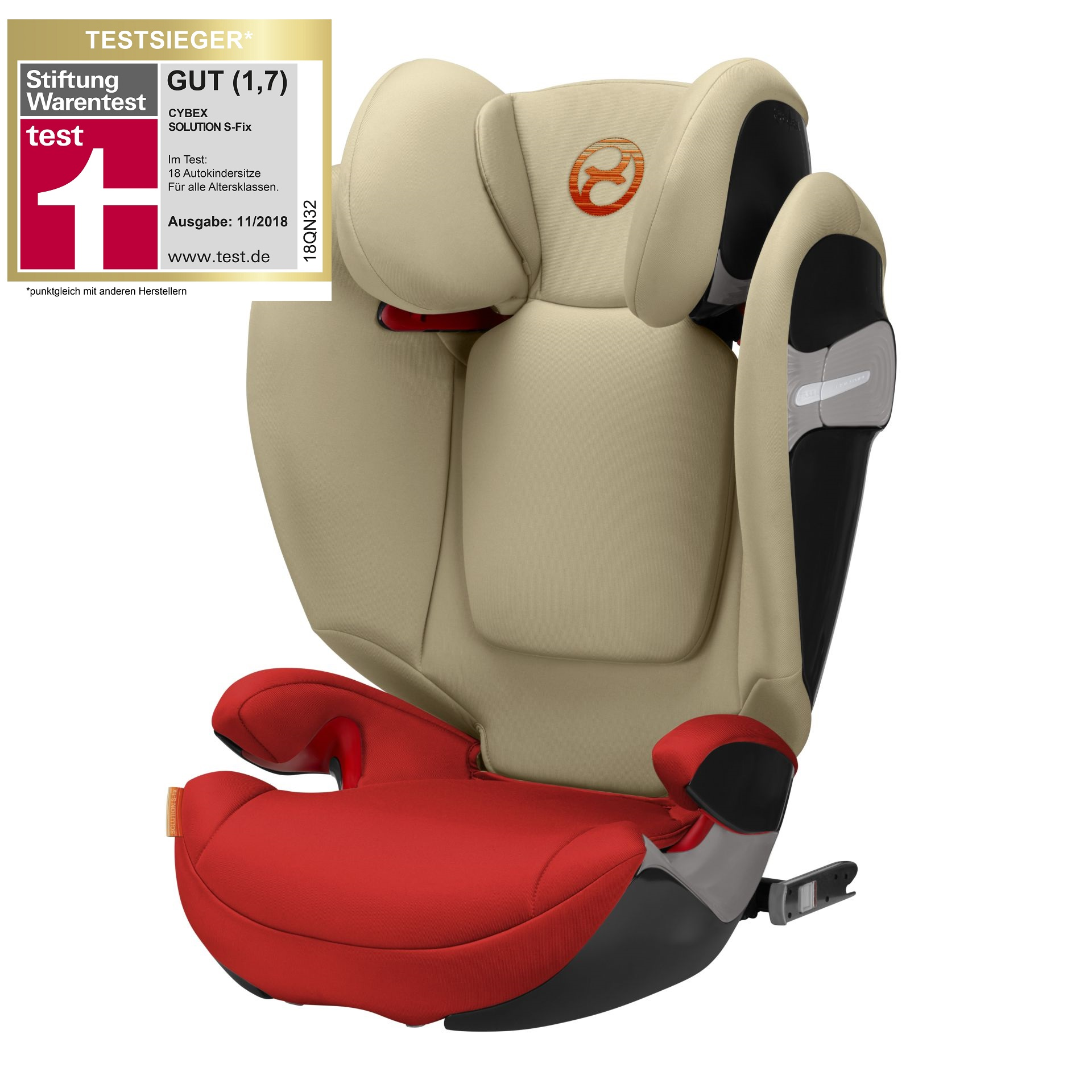 cybex child car seat solution s fix 2018 autumn gold burnt red buy at kidsroom car seats. Black Bedroom Furniture Sets. Home Design Ideas