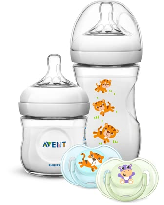 AVENT Philips Natural Gift Set -  * The adorable Philips Avent Natural gift set is perfect for giving new parents and their little one's a real treat.