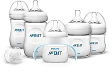 AVENT Philips Naturnah набор бутылочек с обучающей бутылочкой -  * The extensive Natural Set with Trainer Cup by Philips Avent is an ideal and valuable gift perfect for expecting and/ or new parents and their little ones.