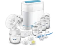 AVENT Philips Natural Starter Set -  * The Philips Avent Naturals Starter Set helps you ease your little one's start to a new life by supplying you with all essential products you need for sterilising, expressing milk and feeding your little one.