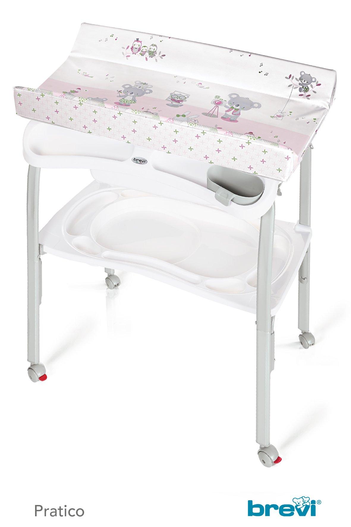 brevi bade und wickelkombination pratico 2018 pink buy. Black Bedroom Furniture Sets. Home Design Ideas