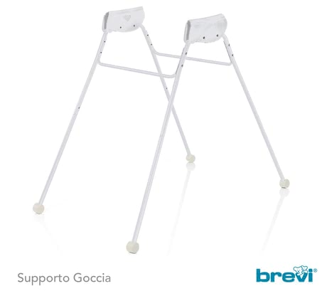 Brevi Bathtub Stand Goccia - The bathtub stand Goccia by Brevi is a must-have accessory for easy-going bathing sessions with your baby.