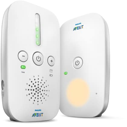 Avent Philips DECT Baby Monitor SCD502/26 -  * The DECT baby monitor SCD502/26 by Philips Avent ensures that you can hear even the softest sound of your child in a clear quality.