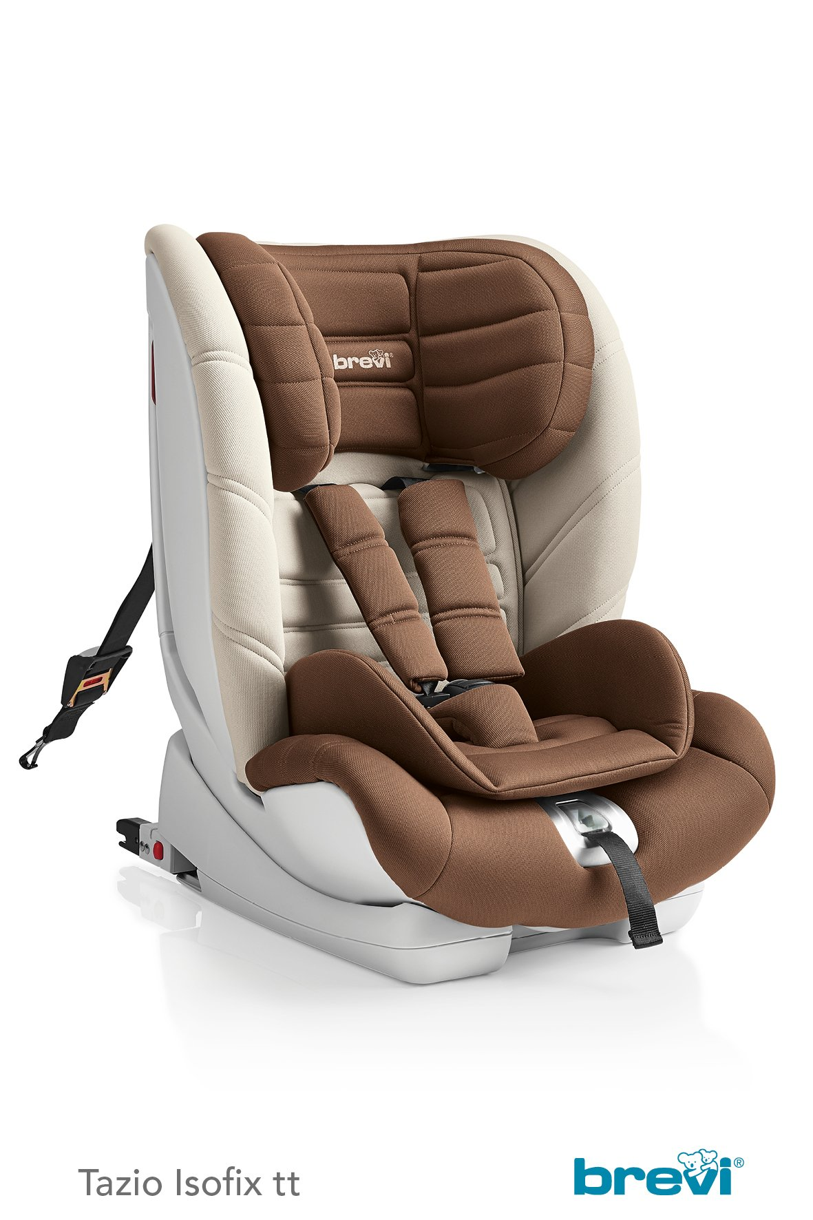 brevi child car seat tazio isofix tt 2018 brown buy at kidsroom car seats. Black Bedroom Furniture Sets. Home Design Ideas