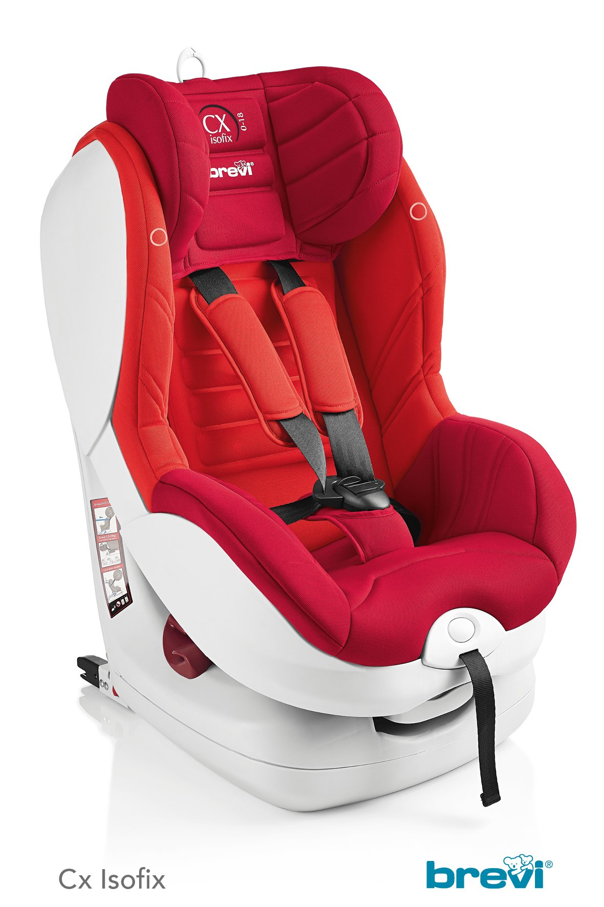 Brevi Child Car Seat Cx Isofix Tt 2018 Red Buy At