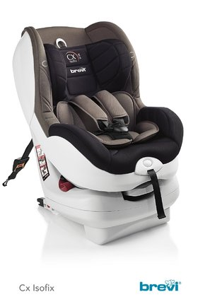 Brevi Child Car Seat CX Isofix tt -  * The Brevi child safety seat CX Isofix tt ensures safe and secure trips for babies and infants right from birth up to an age of approx. 4 years. Your child will enjoy every ride in the soft and comfortable seat shell.