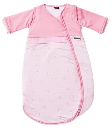 Gesslein Sleeping Bag Bubou, Rabbit – Pink -  * This super cosy sleeping bag accompanies your little girl safely through the night. Exquisite colours as well as the child-oriented design turn this sleeping bag into a comfortable companion that guarantees sweet dreams.