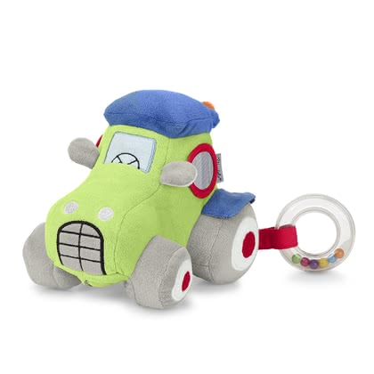 "Sterntaler Multi-Functional Toy Tractor Tom - The new tractor Tom from the ""Wieslinge"" range by Sterntaler now comes with cheerful audible features."
