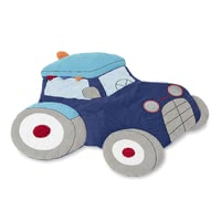 Sterntaler Crawling Blanket Tractor Tom -  * It's time to get Sterntaler's adorable crawling blanket that comes in a most extraordinary design. Featuring a fancy tractor shape, this cute blanket is an absolute eye catcher that will add some oomph to your little one's nursery.