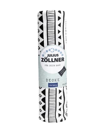Zöllner Jersey Blanket -  * Zöllner's padded blanket made of 100% cotton jersey accompanies your child from birth up to his toddler years.