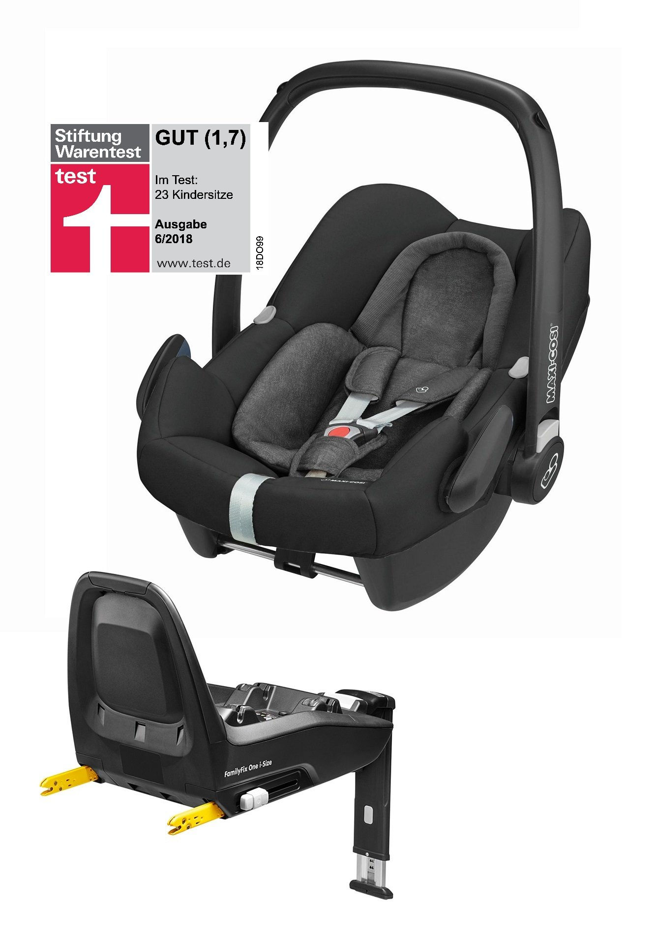 maxi cosi infant car seat rock including familyfix one i. Black Bedroom Furniture Sets. Home Design Ideas