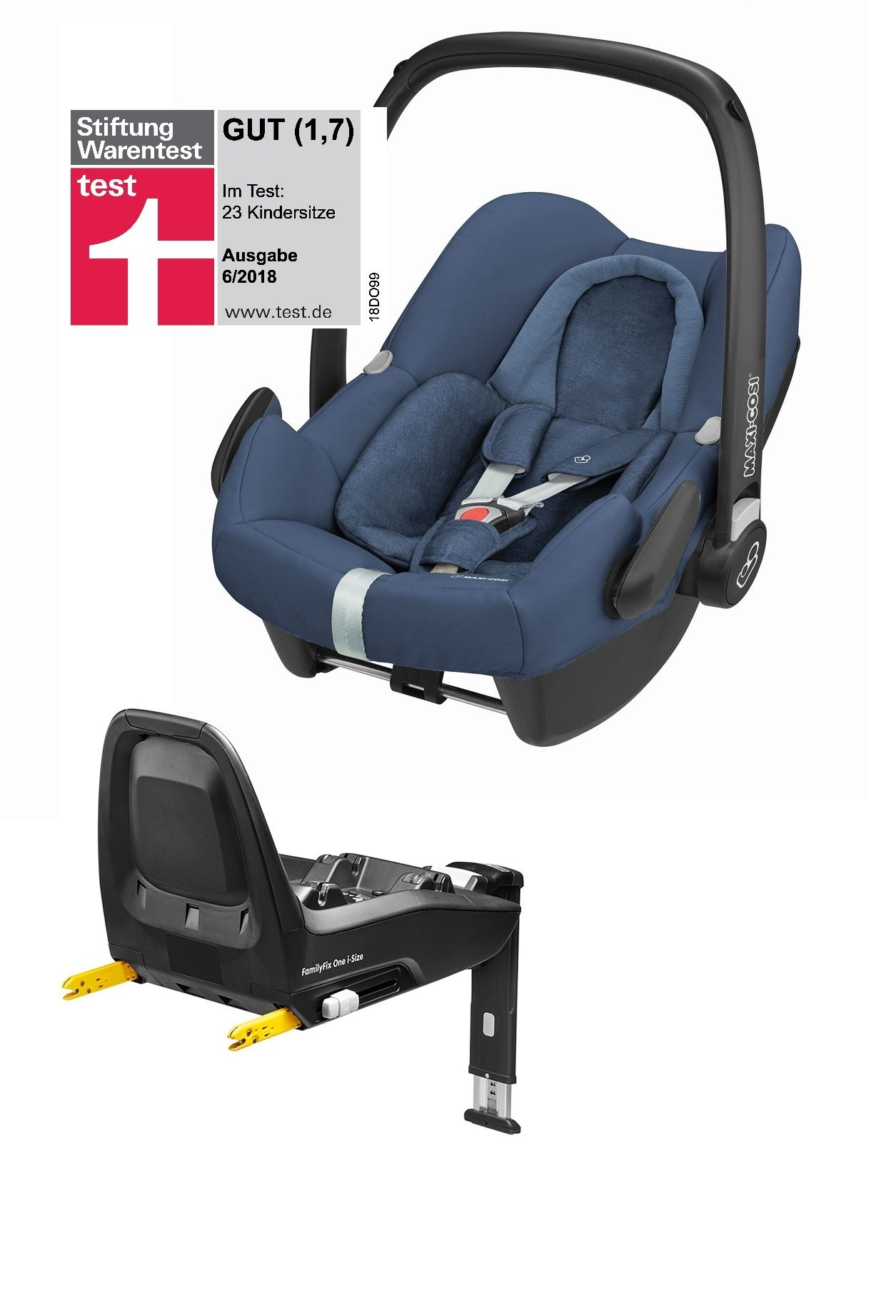 maxi cosi babyschale rock inkl familyfix one i size 2018 nomad blue buy at kidsroom car seats. Black Bedroom Furniture Sets. Home Design Ideas