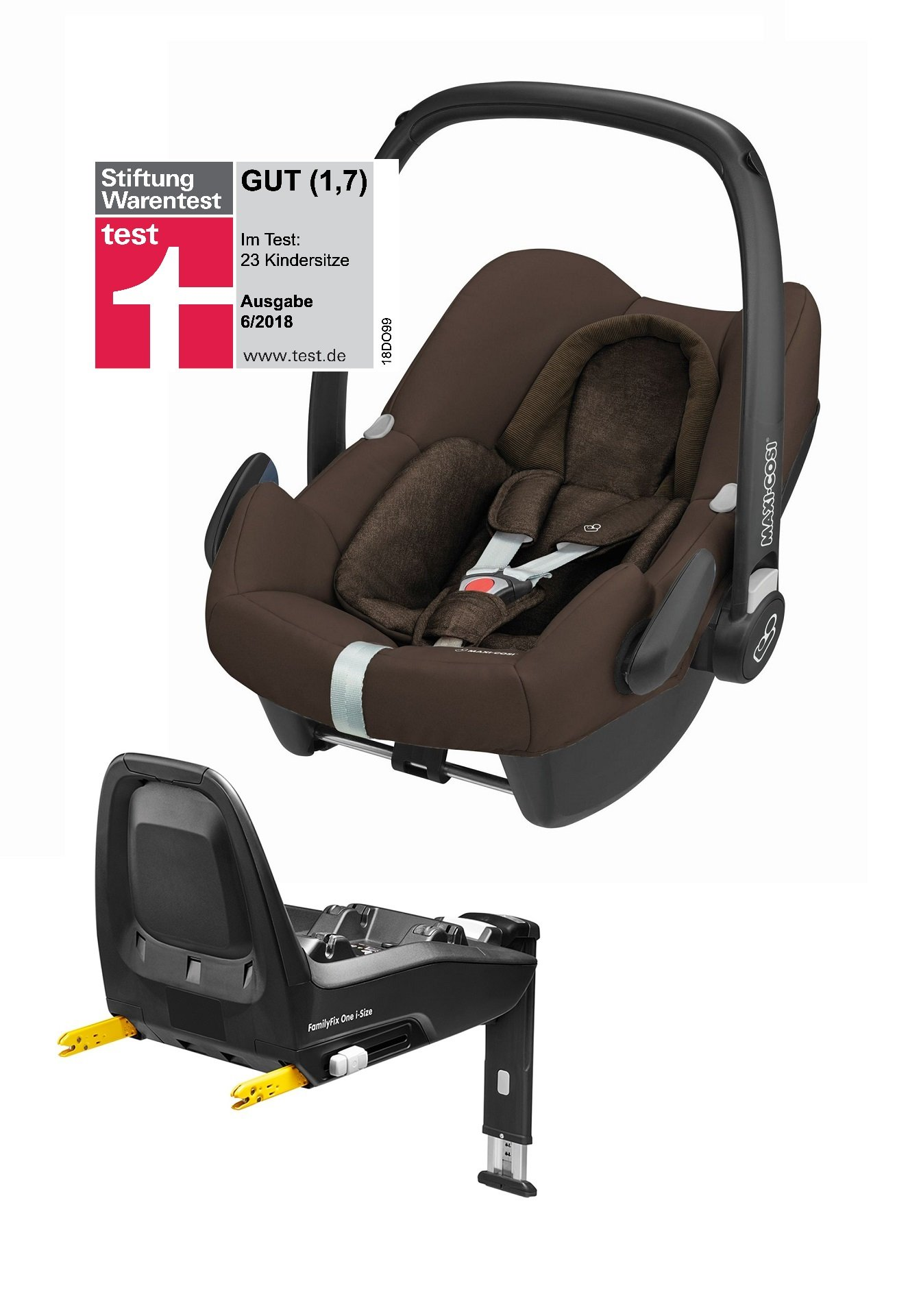 maxi cosi babyschale rock inkl familyfix one i size 2018 nomad brown buy at kidsroom car seats. Black Bedroom Furniture Sets. Home Design Ideas