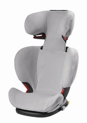 Maxi-Cosi Summer Cover for Child Car Seat RodiFix AirProtect® -  * The Maxi-Cosi summer cover prevents your little one from breaking a sweat too quickly. The cotton terry cloth cover absorbs heat and feels comfortably cool.