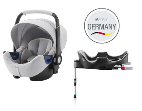 Britax Römer Infant Car Seat Baby Safe 2 i-Size including Flex Base – Special Edition Nordic Grey -  * The infant car seat Baby Safe 2 i-Size including Flex Base by Britax Römer offers plenty of space to grow and provides a flat recline position.