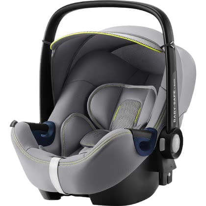 Britax Römer Infant Car Seat Baby Safe 2 i-Size Cool Flow - Silver 2020 - large image