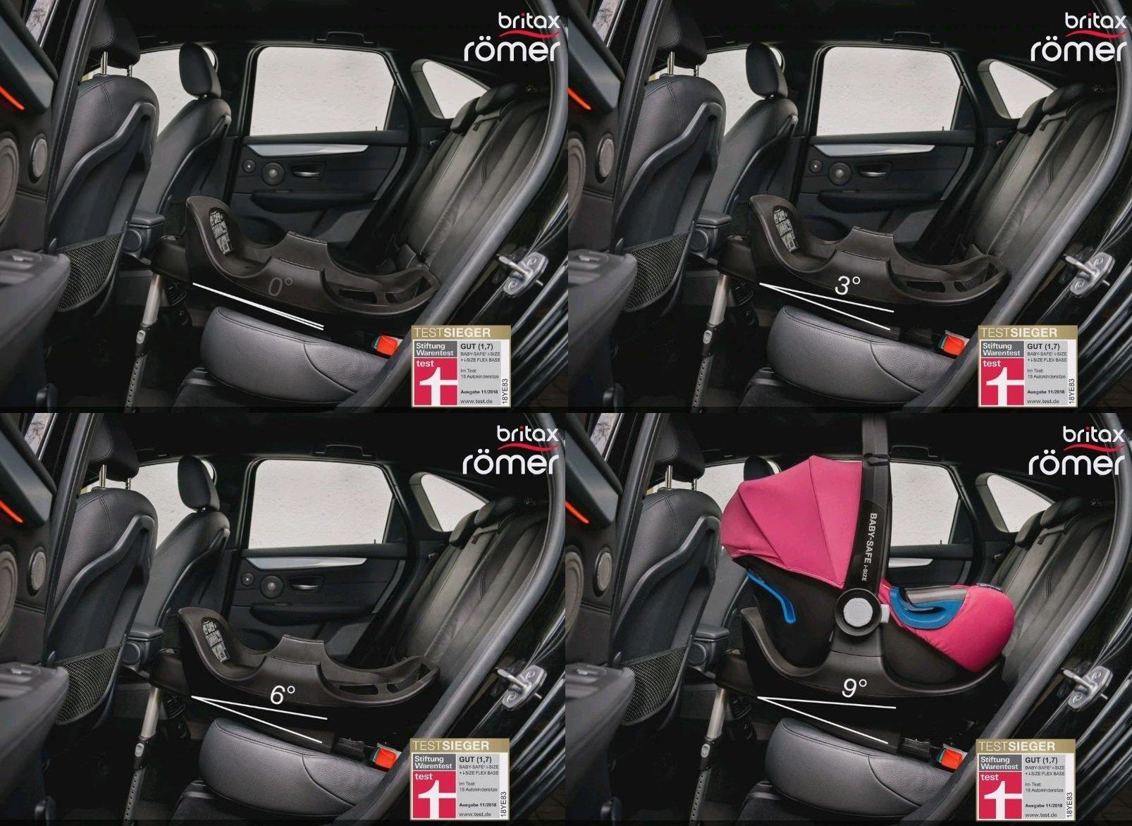 Best Infant Car Seat 2020.Britax Romer Infant Car Seat Baby Safe 2 I Size Including Flex Base