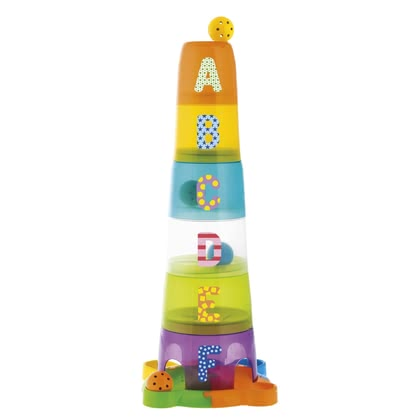 Pile and stack toys