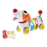 "Chicco Musical Dog ""DogReMi"" -  * This cheerful interactive dog will delight your child from the moment it moves in with you. Being colourful, cheeky and absolutely fond of children, this cute little dog stands out as your little one's new and faithful companion."