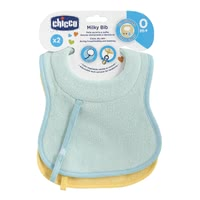 Chicco Bib with Soother Holder -  * Chicco's bib is an indispensable companion for your little one right from the very first day.