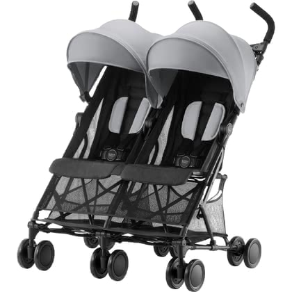 Britax Römer Buggy Holiday Double -  * The super-light double buggy Britax Römer Holiday Double will turn every trip with your two bundles of joy into an unforgettable experience.