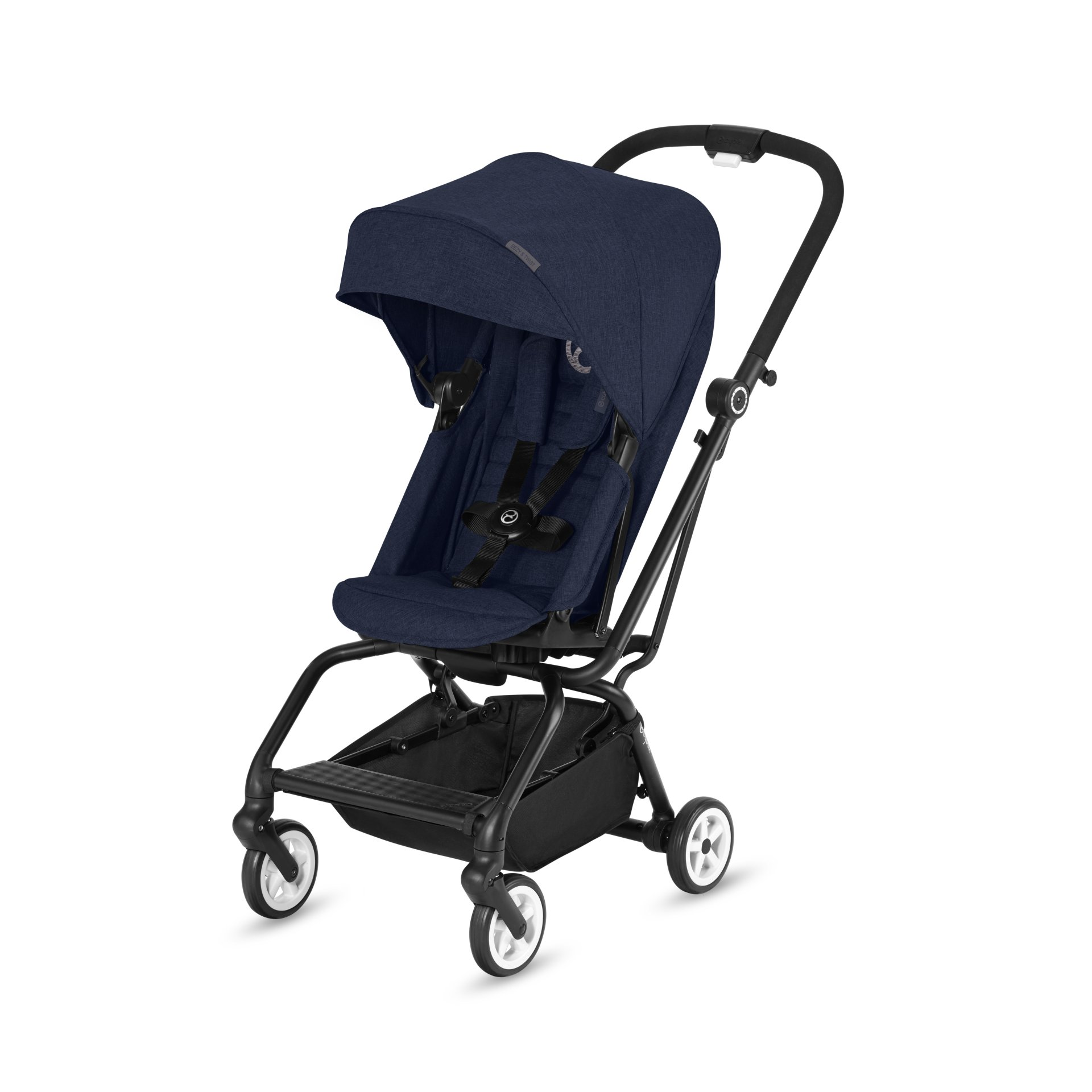 cybex buggy eezy s twist 2018 denim blue blue buy at. Black Bedroom Furniture Sets. Home Design Ideas