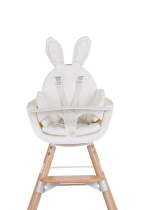 Childhome Seat Cushion Rabbit -  * Extraordinarily chic – Childhome's seat cushions and seat inserts provide your child with a soft seat pad for maximum well-being.