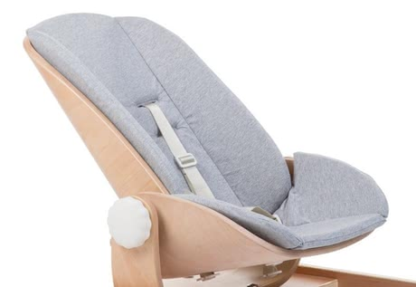 Childhome Woodrock Seat Cushion Jersey -  * Having the super soft seat cushion Jersey in your baby bouncer Woodrock will provide your little one with even more comfort and cosiness.