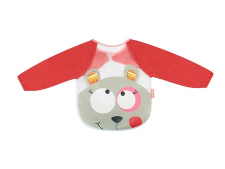Badabulle Long Sleeve Bib -  * With Badabulle's long sleeve bib there won't be any food debris on your little one's clothes.