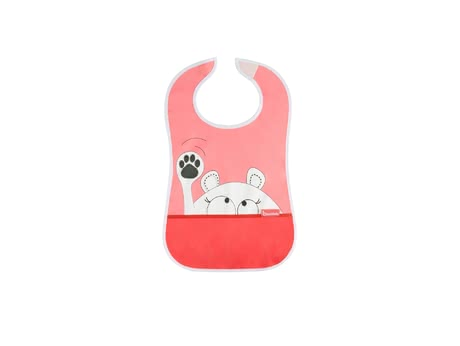 Badabulle Soft Bib with Crumb Catcher -  * Badabulle's soft bib with crumb catcher turns eating and drinking into an easy and clean experience for your child.