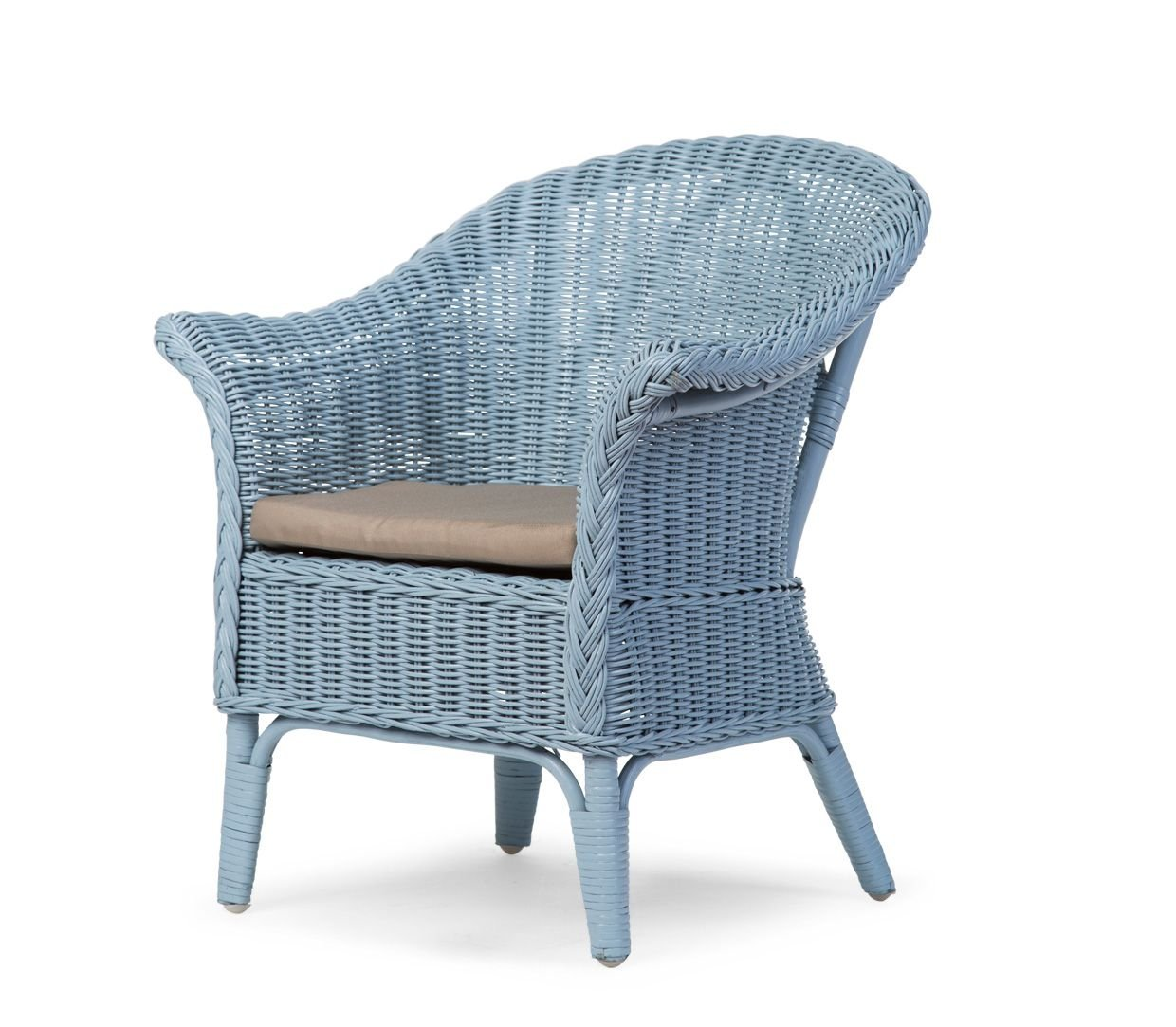 Childhome wicker chair mimo blau buy at kidsroom for Large wicker moon chair