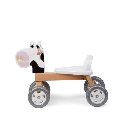 Childhome Ride-on Toy -  * With this amazing toy ultimate riding fun is guaranteed! Finally, things get moving! Your little discoverer will now conquer your home with some animal help.